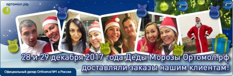 Дед Мороз Ортомол.рф