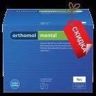 Orthomol Mental капсулы порошок (30 дней). Скидка. Вскрытая-мятая упаковка. Срок до 31.01.2019