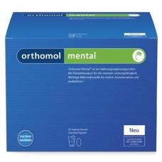 Orthomol Mental капсулы + порошок (30 дней) Срок годности - до 30.04.2019 г.