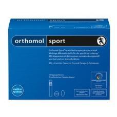 Orthomol Sport (Омега- 3) - питьевая бутылочка (жидкость) + капсула + таблетка (30 дней)
