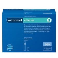 Orthomol Vital m - питьевые бутылочки (жидкость) + капсулы (30 дней)  Срок годности - до 30.04.2018 г.