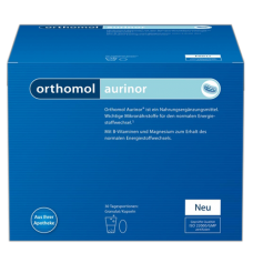 Orthomol Aurinor (порошок + капсулы 30 дн) Срок годности - до 30.09.2019 г.