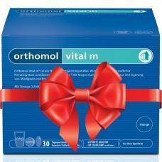Orthomol Vital m - питьевые бутылочки (жидкость) + капсулы (30 дней). Скидка 20%.