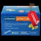 Orthomol junior C plus - гранулы директ (30 дней) малина и лайм, витамины для детей. Скидка. Вскрытая упаковка. Срок 31.08.2019.