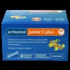 Orthomol junior C plus - гранулы директ (30 дней) малина и лайм, витамины для детей.