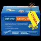 Orthomol junior C plus - гранулы директ (90 дней) малина и лайм, витамины для детей. Срок годности - до 30.04.2020 г.