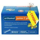 Orthomol junior C plus - гранулы директ (90 дней) малина и лайм, витамины для детей.
